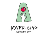 Advertising Bowling Cup