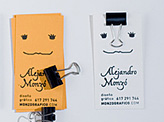 Alejandro Monzo Business Card