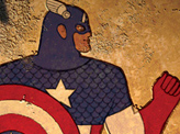 Avengers in the Style of Ancient Egyptian Artists