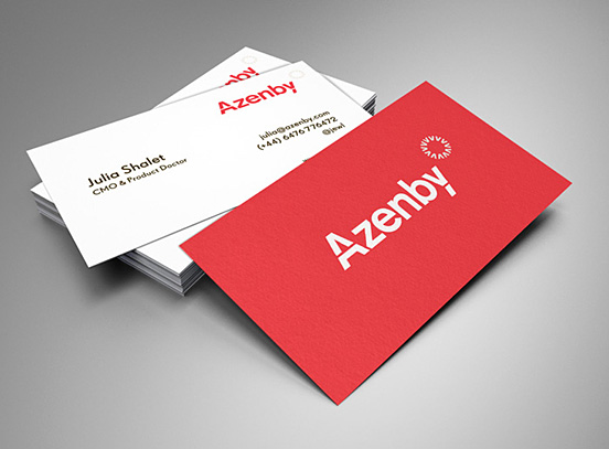 Azenby Business Card
