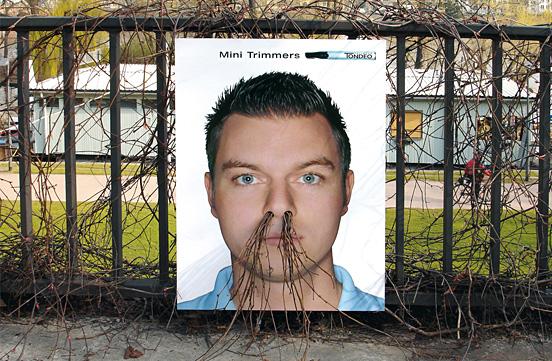 Growing Poster Nose Hair