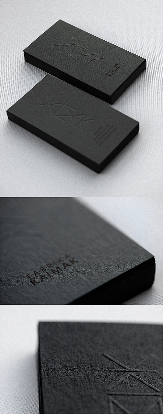 Kaimak Business Cards