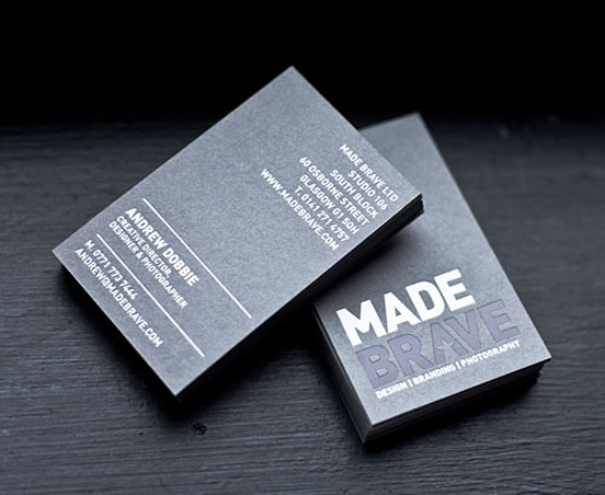 MadeBrave Business Card