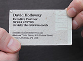 That's Brave Business Card