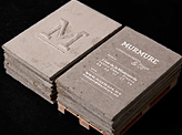 Concrete Business Cards
