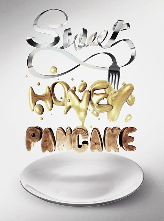 Sweet Honey Pancake