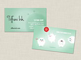 Tiffani Ink Business Cards