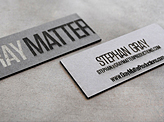 Gray Matter Business Card