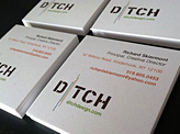 Ditch Design Business Card