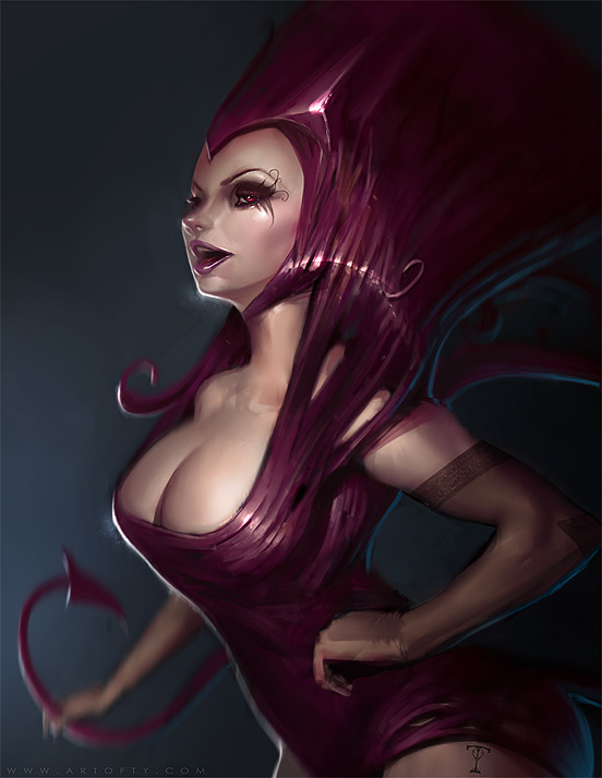 The Mauve Maiden