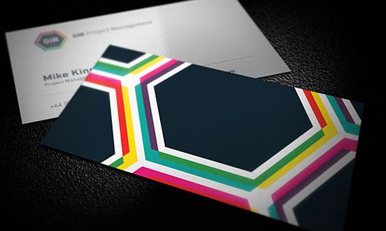 Gir Project Management Business Card