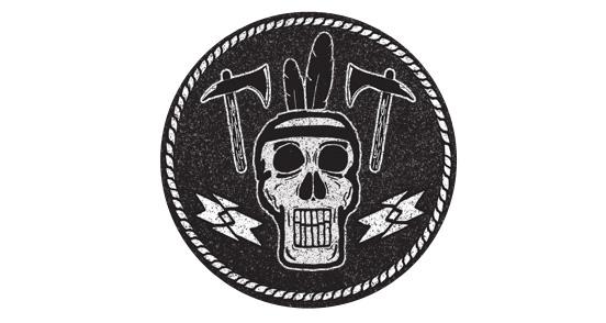 Indian Head Skull