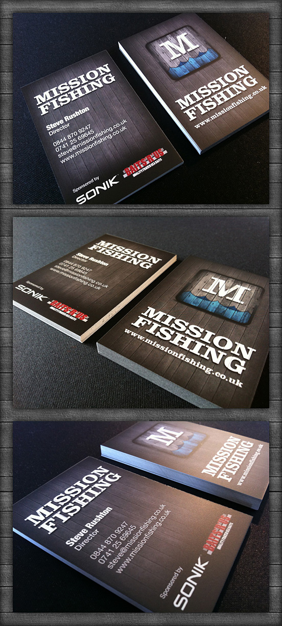 Mission Fishing Business Cards