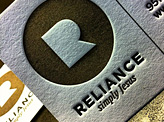 Reliance Business Cards
