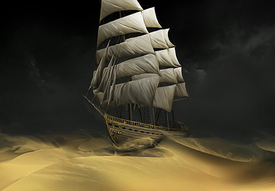 Sailing the Desert
