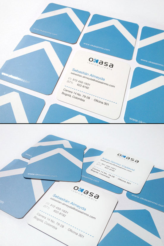 Square Real Estate Business Cards