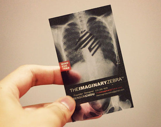 The Imaginary Zebra Business Card