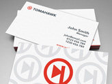 Tomahawk Business Cards