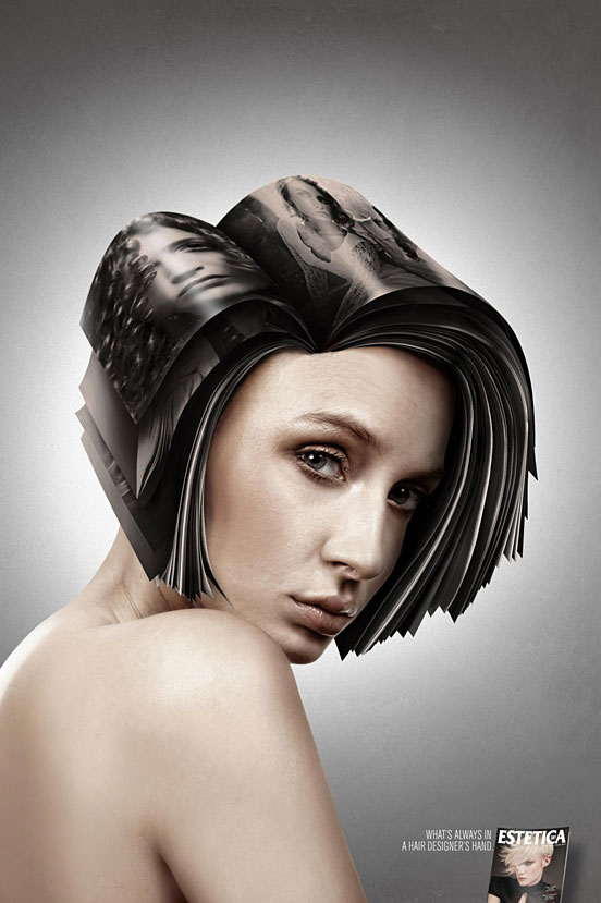 What's Always in A Hair Designer's Hand
