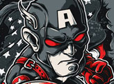 Angry Avengers Captain America