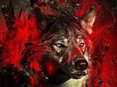 Fiery Wolf