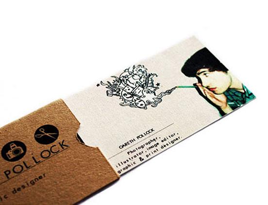 Gareth Pollock Business Card