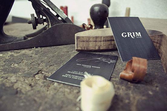 Grim Guitars Business Card