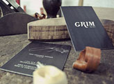 Grim Guitars Business Card