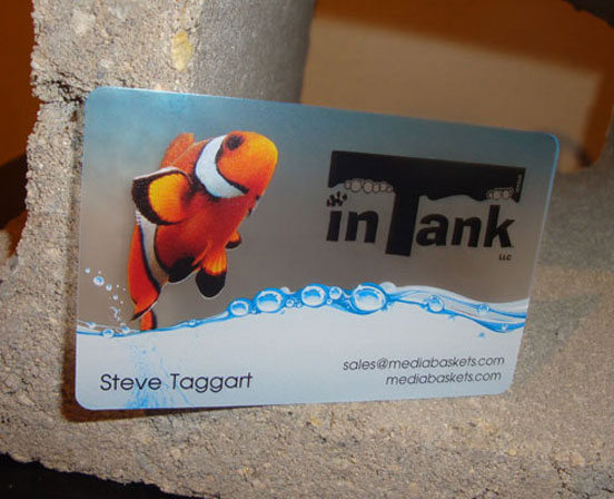 In Tank Business Cards