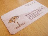 Nissiwood Veneers Business Card