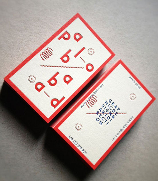 Pablo Abad Business Card