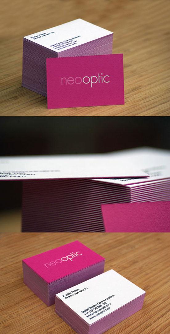 Pink Letterpress