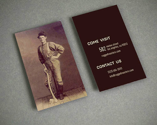 Rugged Roasters Business Card