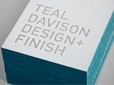 Teal Davison Business Card