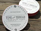 Tine and Thread Business Card