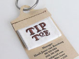 Tip Toe Business Card