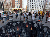 3D Street Painting for The Dark Knight Rises