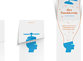 Alex Timokhovsky Business Card
