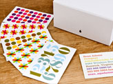 Colorful Bold Business Cards
