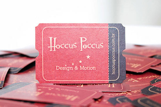 Hoccus Poccus Business Card