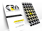CRA Fitness Studio Business Cards