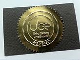 Gold Foil Emboss Design