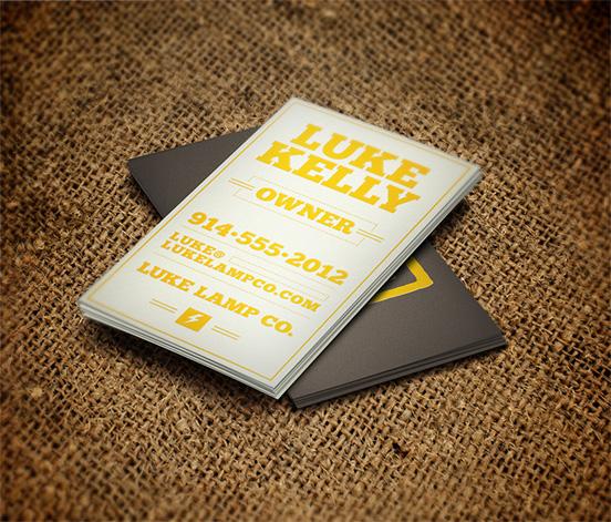 Luke Kelly Business Card