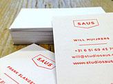 Studio Saus Business Card