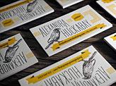 Letterpress Business Cards