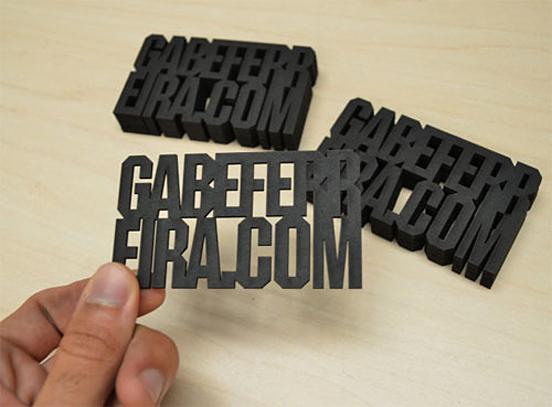 Gabe Ferreira Business Card