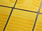 Howler Magazine Business Cards