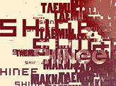 Lee taemin typography