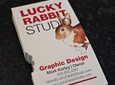 Lucky Rabbit Studio Business Cards