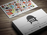 Multimedia Artist Business Card